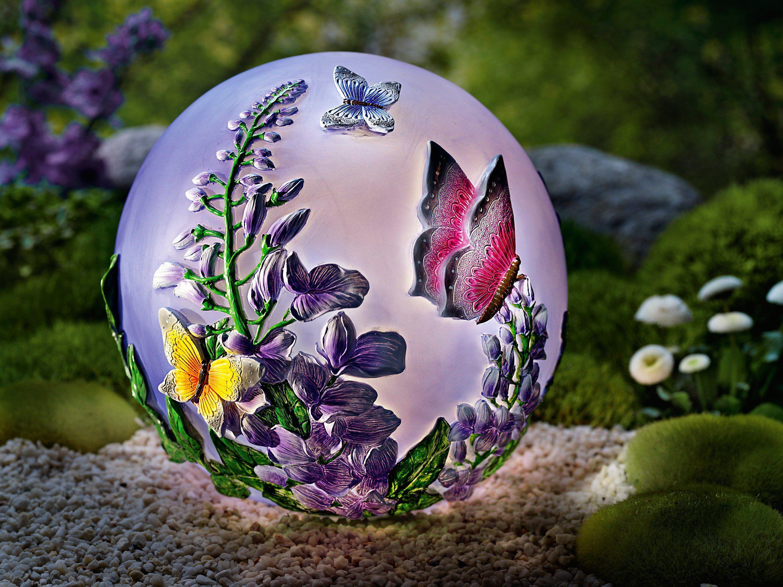 Led Kugelleuchte Schmetterling Jetzt Bei Weltbild De Bestellen Lichtkugeln Schone Tapeten Kugel
