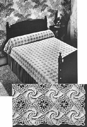 Crochet Bedspread Free Pattern Crochet Patterns Blankets