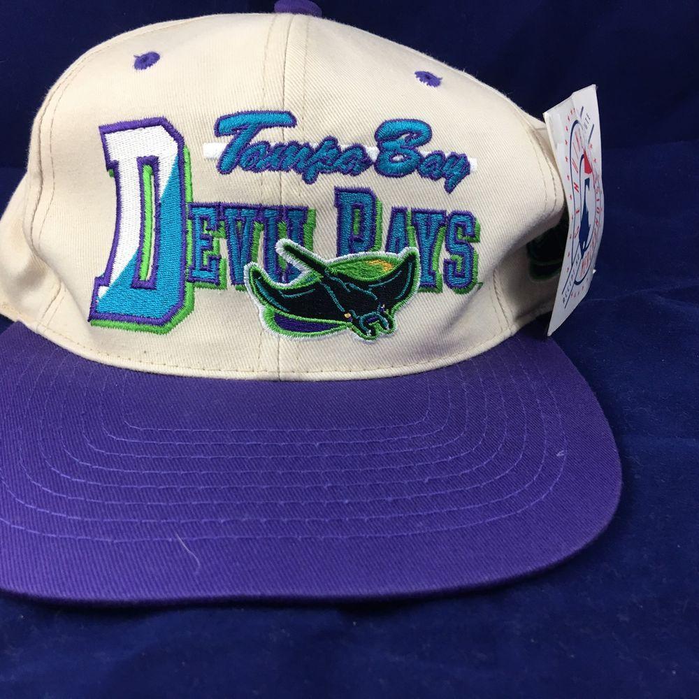 f01adb3ab29 Tampa Bay Devil Rays Snapback Hat Cap  TampaBayDevilRays Tampa Bay Rays