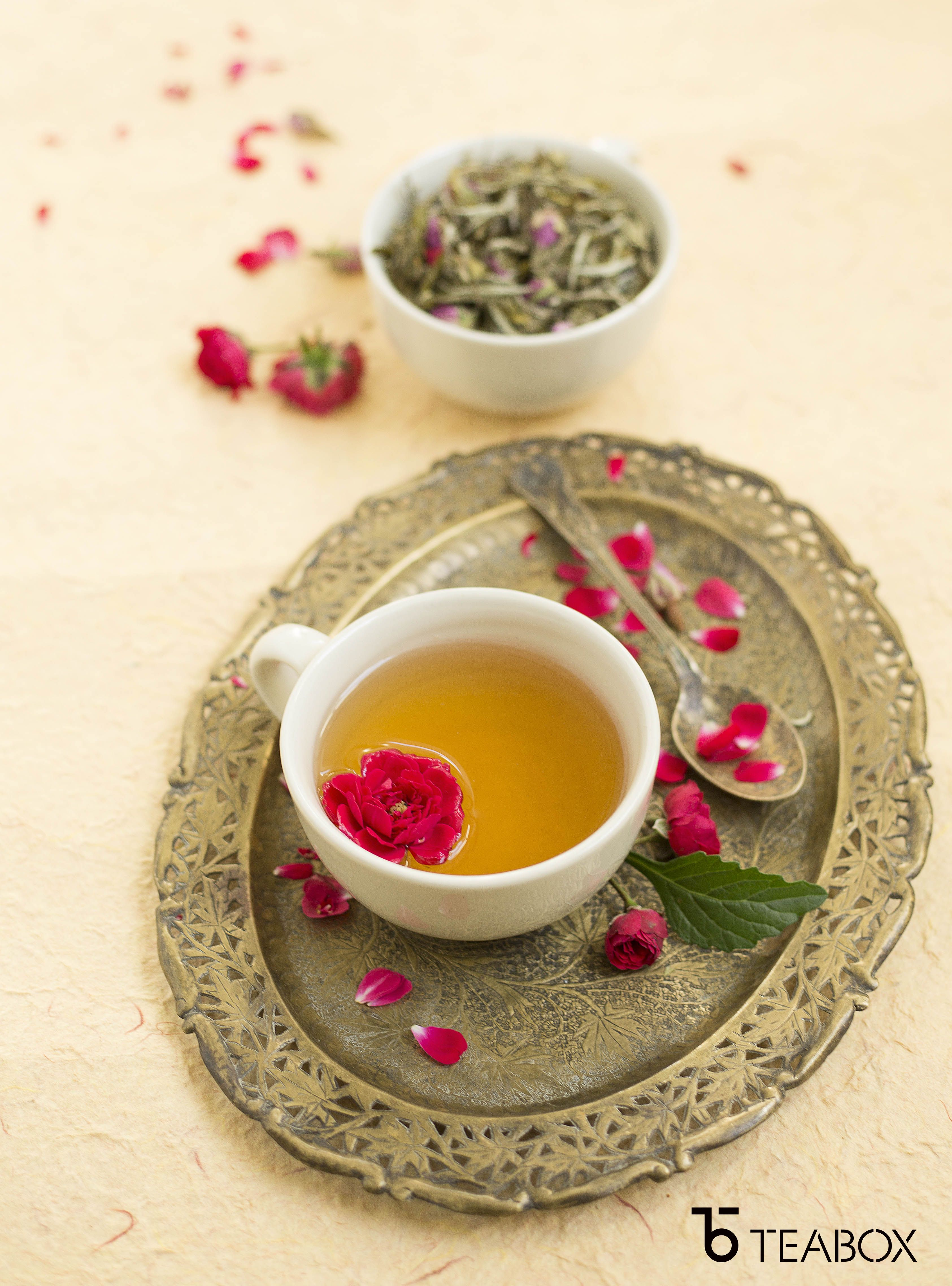 This Dreamy Blend Of Premium Green Tea And Jasmine Flower Takes You