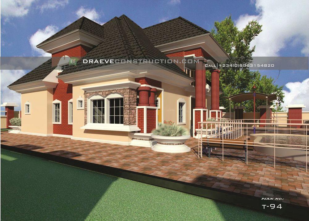 5 Bedroom Penthouse Building Plan design in Nigeria (Benin ...