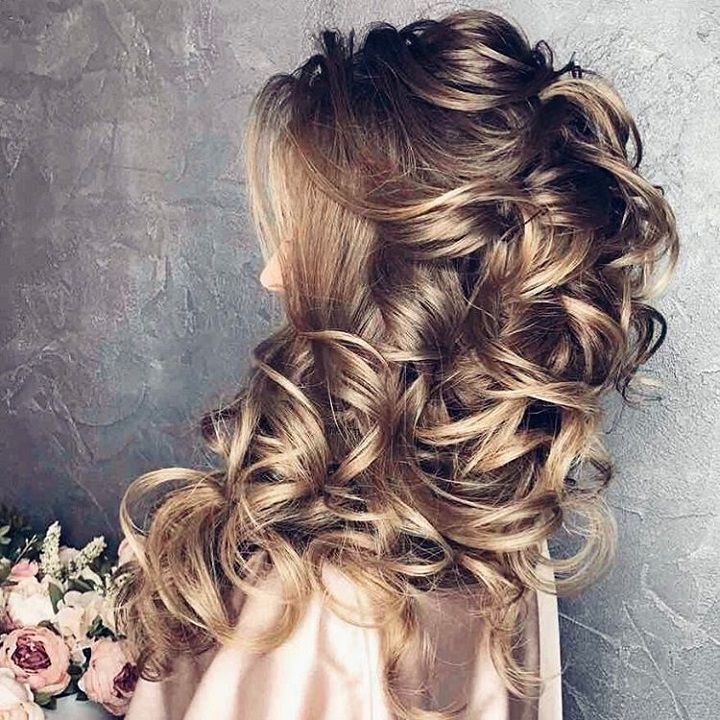 Beautiful Wedding Hairstyles Down For Brides And Bridesmaids: 11 Beautiful Wedding Hairstyles Down For Brides And