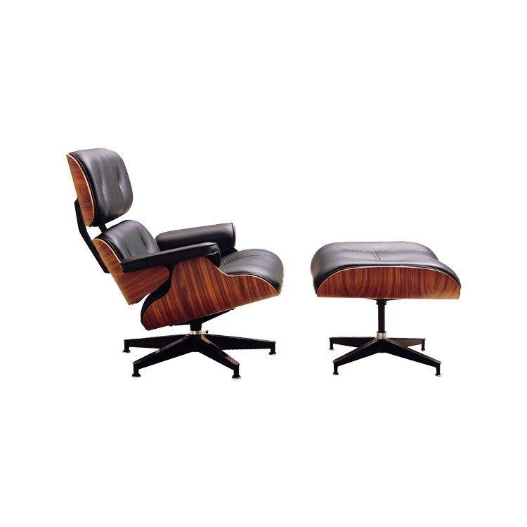Eames Lounge Lounge chair incl. hocker