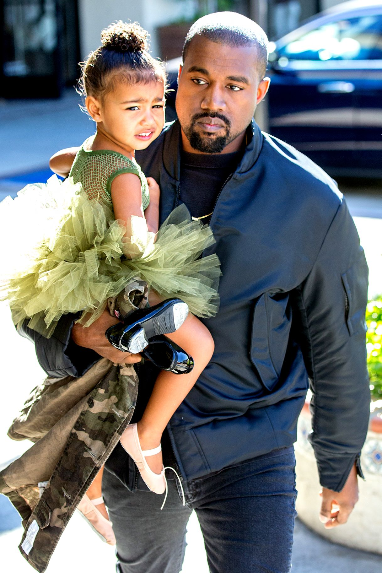 North West Once Pulled The Ultimate 2 Year Old Move On Kanye West Celebrities Kanye West Kanye West Style