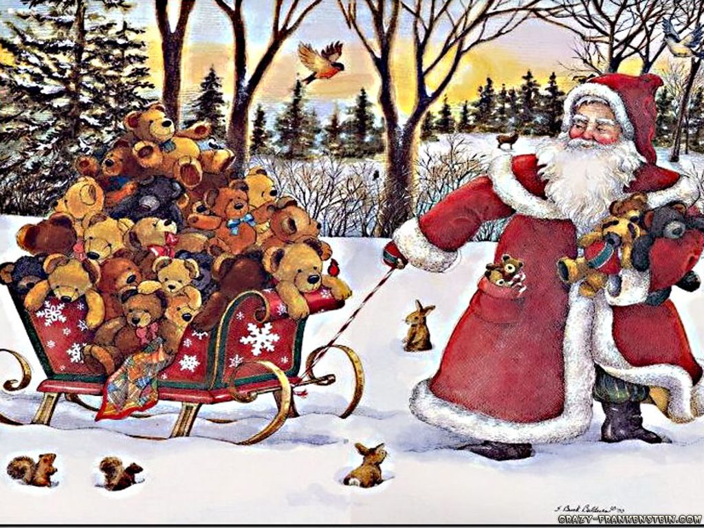 Have A Beary Merry Christmas! ♥