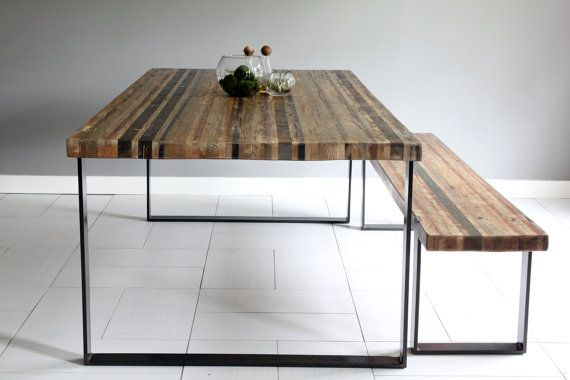 8 Industrial Modern Dining Table By Seventeen20 On Etsy Dining