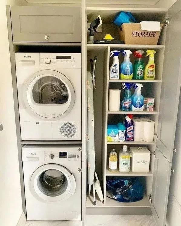 37 Clever Utility Room Design Ideas 9 Bloghenni Online Laundry