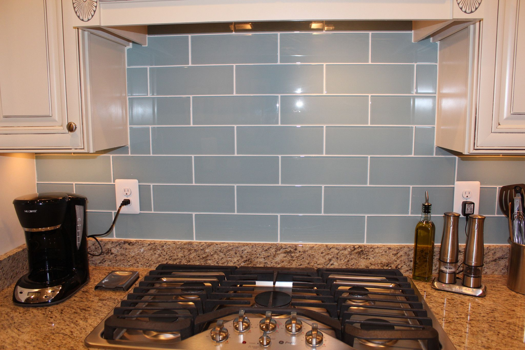 Gray 4x12 Gl Subway Tiles