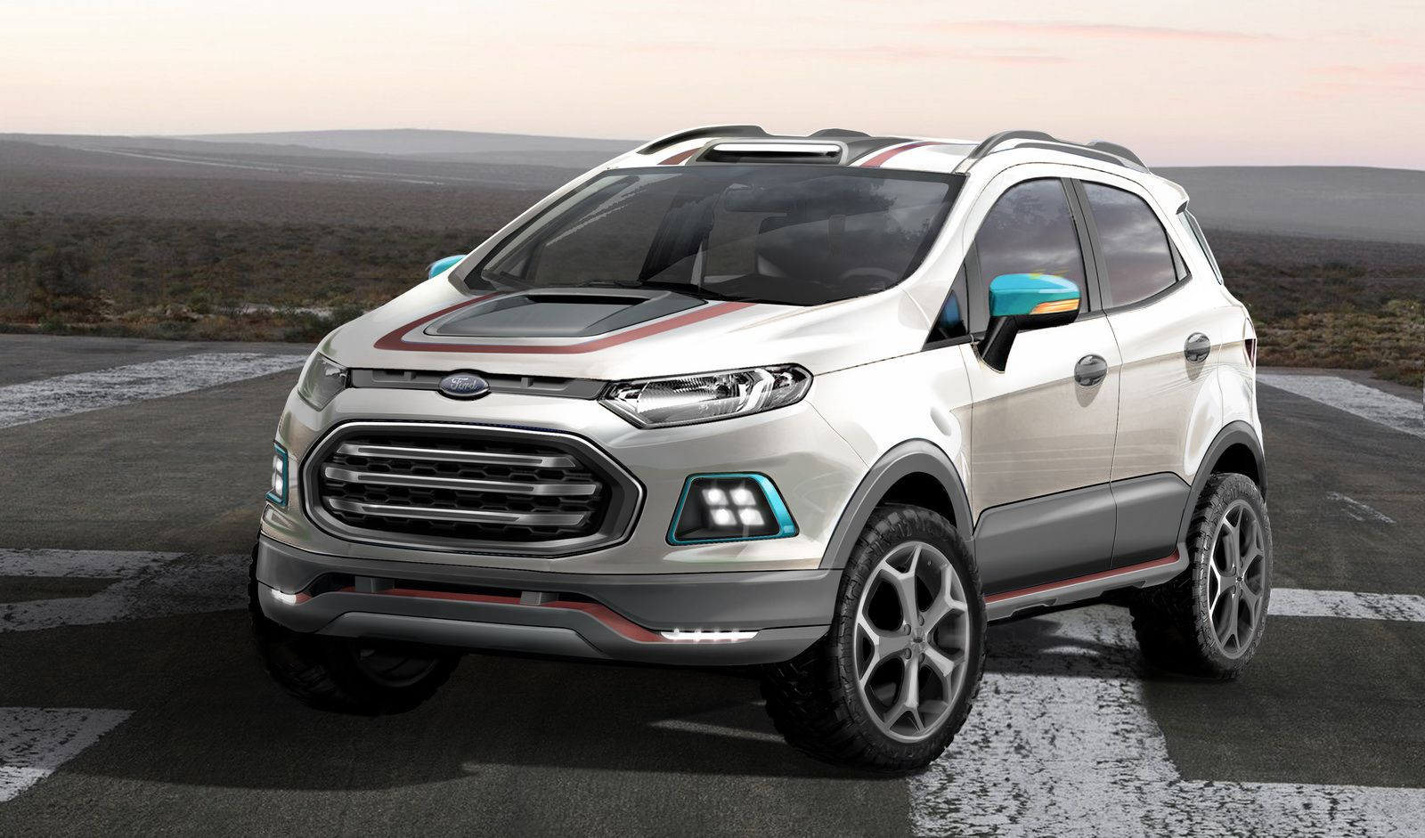 Photo gallery for the article ford ecosport beauty the beast and storm concepts head to sao paulo