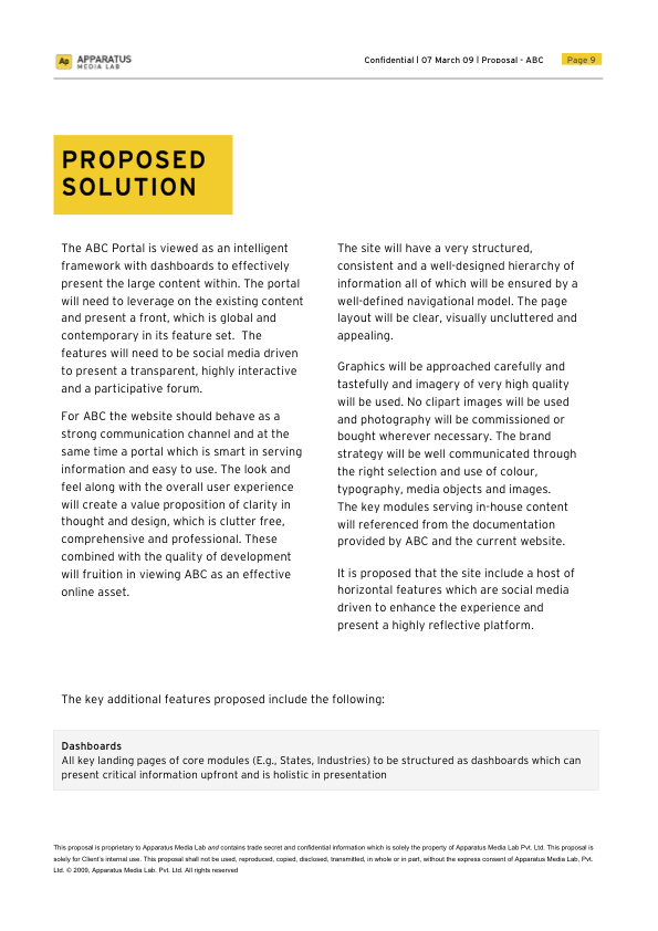 Project Proposal Template Word Project Proposal Template Designed In Ms Wordvarun Dhanda Via .