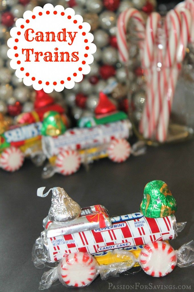 Attractive Christmas Candy Craft Ideas Part - 3: Christmas Crafts For Kids Lifesaver Candy Trains Reindeer Candy Canes