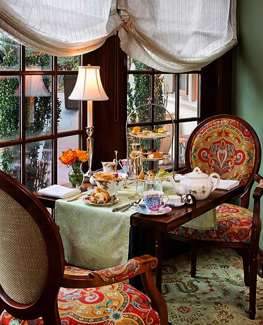 Afternoon Tea Is An Special Moment At The Hotel Granduca