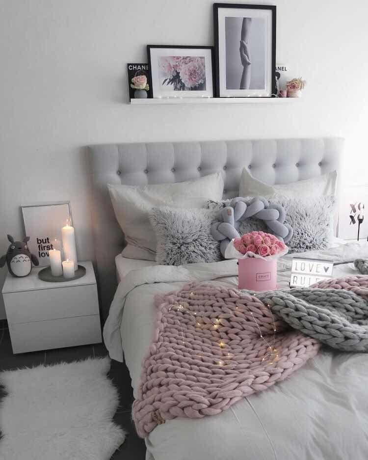 37 hermosas ideas para cuartos de chicas super chic 2019 for Modelos de decoracion de dormitorios