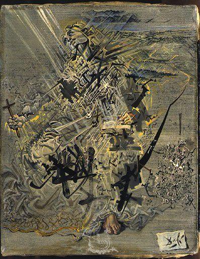 Saint Jerome, 1960. Salvadore Dali.