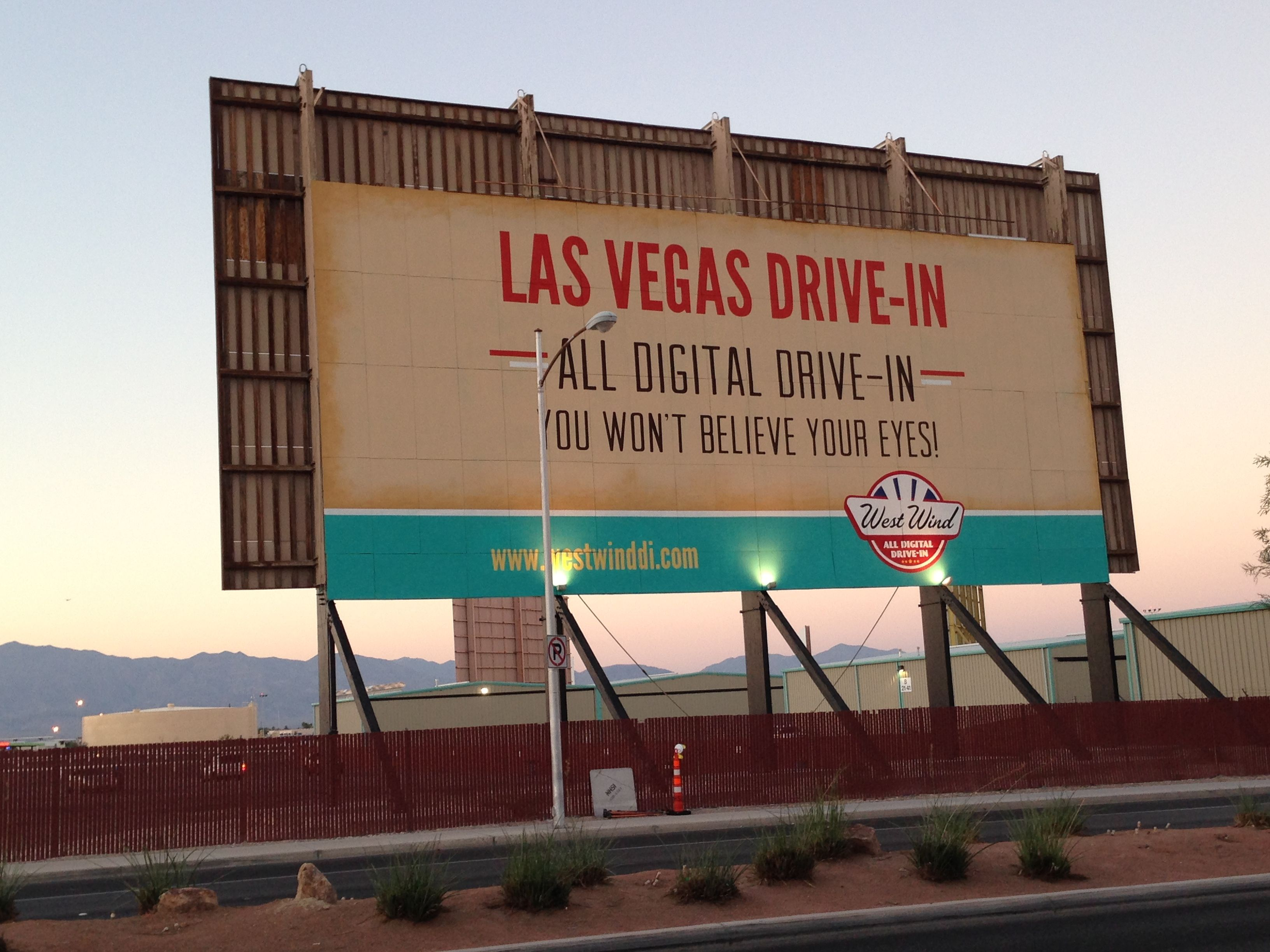 Pin By Arnett Cooper On Drive In Drive In Movie Theater Drive In Movie Las Vegas