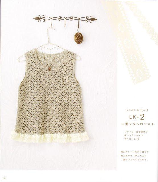 PATRONES JAPONESES | Crochet tejidos | Tejido de ensueño | Pinterest ...