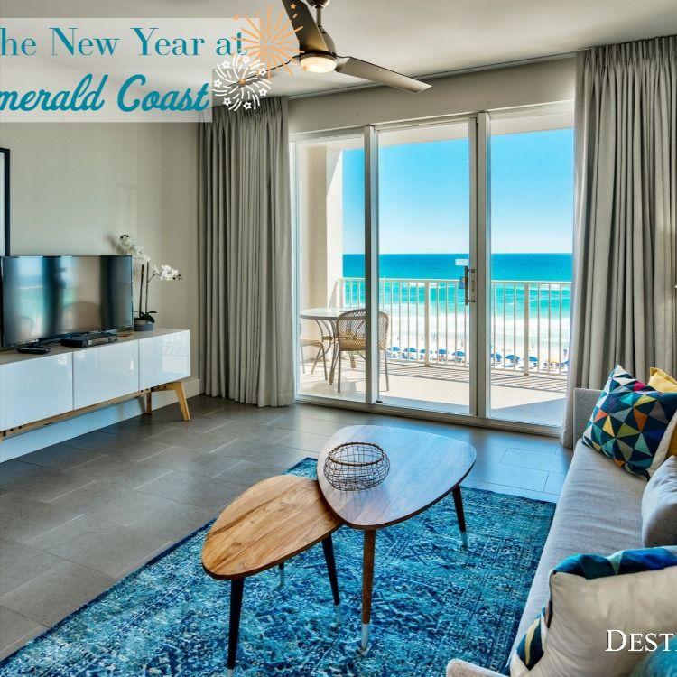 Start The New Year Off Right At The Beach Celebrate 2020 In A Nice Modern Beach Condo Here In Destin Fl Majestic Miramar Beach Resort Pools Seascape Resort