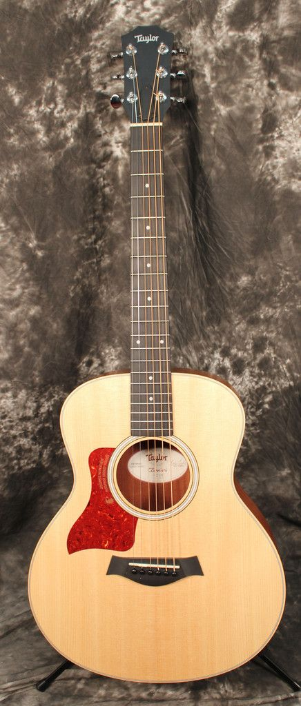 2015 Taylor Gs Mini Left Handed Acoustic Guitar W Hardbag Left Handed Acoustic Guitar Guitar Left Handed
