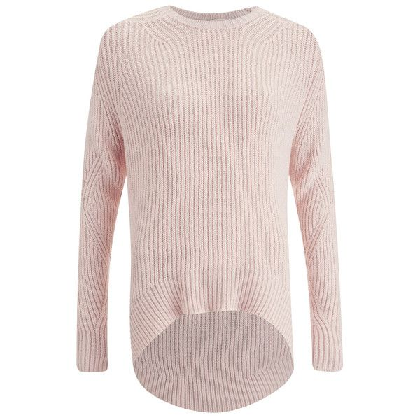 The Fifth Women's Magnolia Knit Jumper - Shell Pink ($185 ...