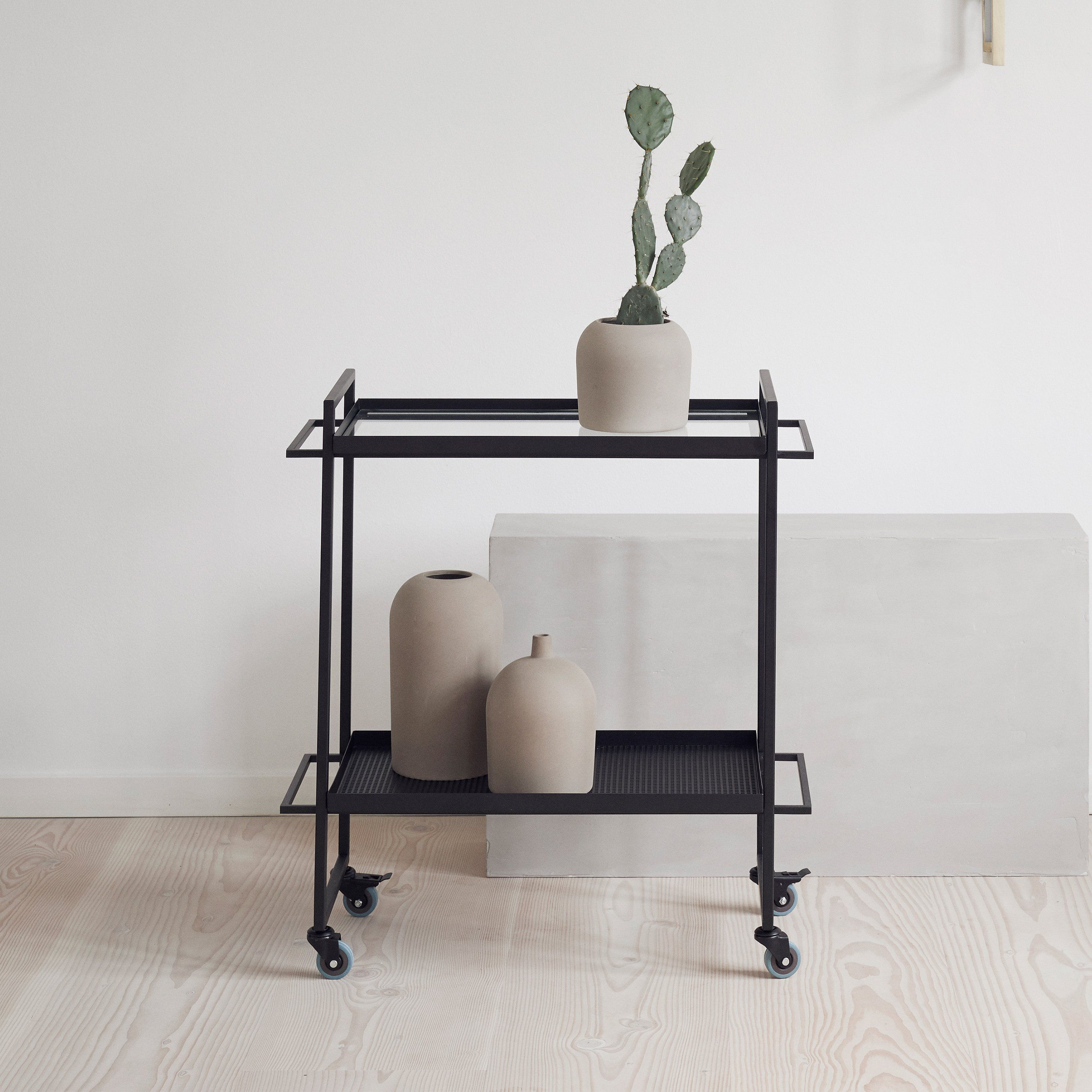 Kristina Dam Studio - Bauhaus Trolley - Sort | Pinterest