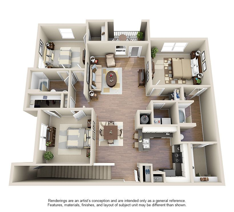 One Two And Three Bedroom Luxury Apartments In Houston Tx
