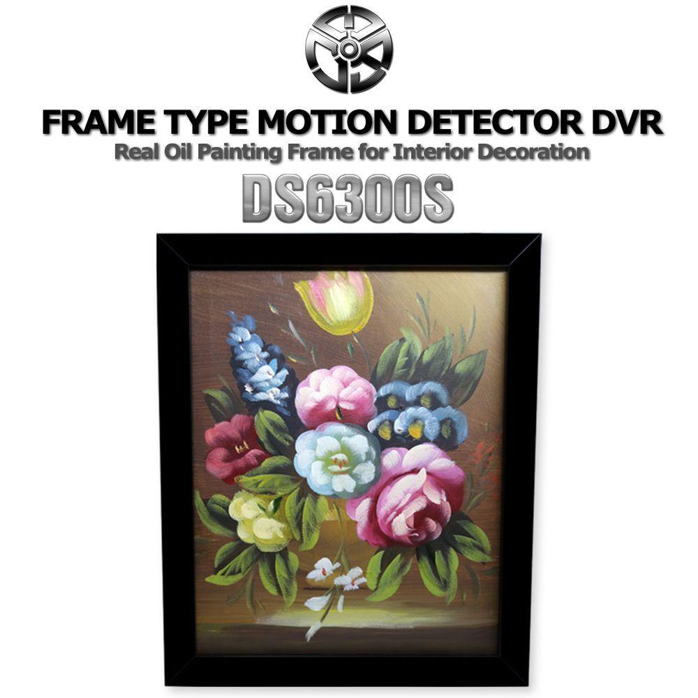 DAMOACAM DS6300S Frame Type Indoor Security Spy Camera HD720P/Real ...