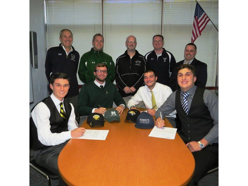 4 Yorktown High School Students Sign Letters of Intent to Play - letters of intent