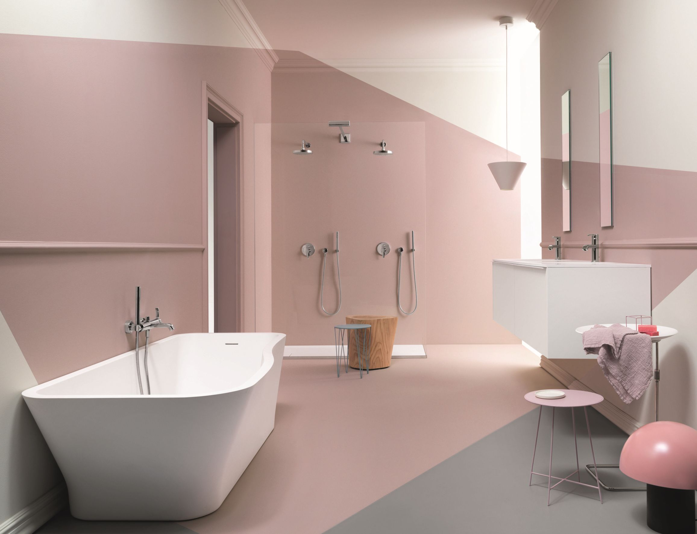 Image Result For Zucchetti Bathroom Pink