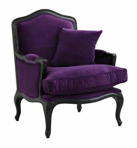 Pretty Purple Chair, A Little Dark Though