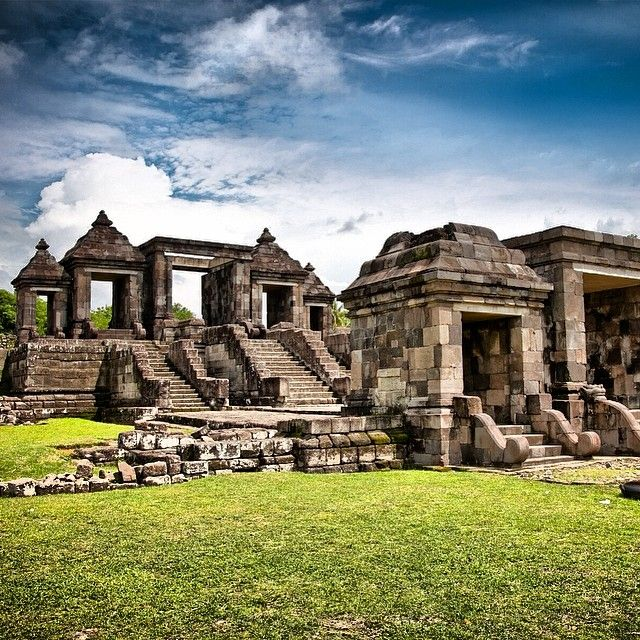 Ratu Boko Palace, Central Java, Indonesia. @getourguide cat cat (Getourguide.com) on Instagram. Make your own itinerary at getourguide.com