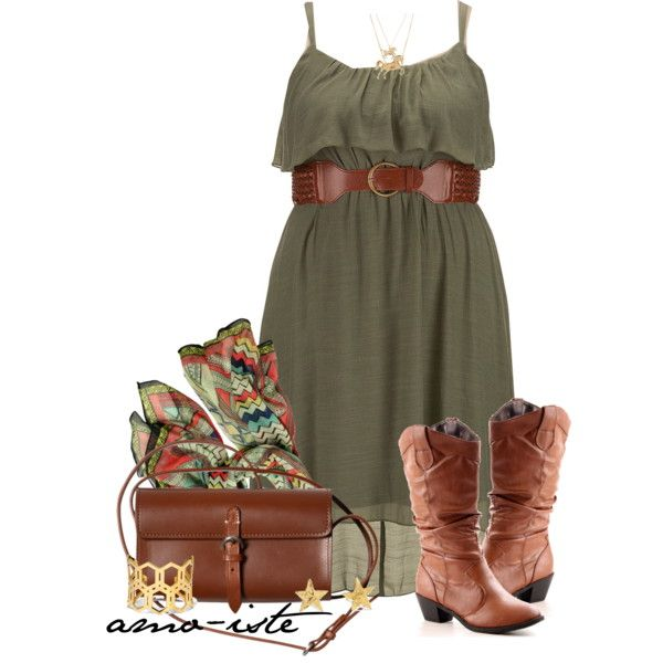 e87647e8a088 A little bit country - Plus Size by amo-iste on Polyvore featuring BLVD  Supply, Gorjana, Aéropostale, Pink Mascara, C. Wonder and country