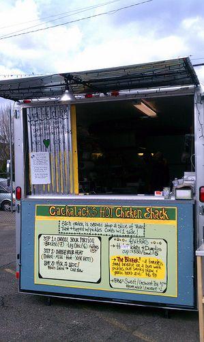 Portland Wa Street Food Cackalacks Hot Chicken Shack Plastic