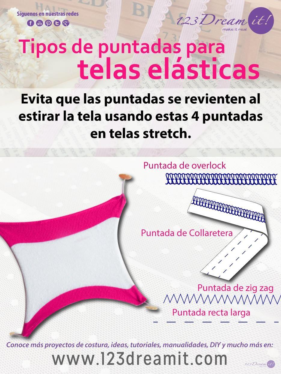 Si no sabes como coser telas stretch aquí te decimos cuales son los ...