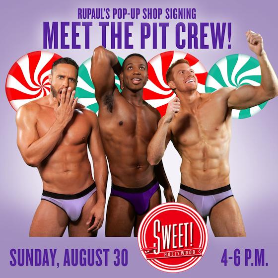 Sexy pit crew