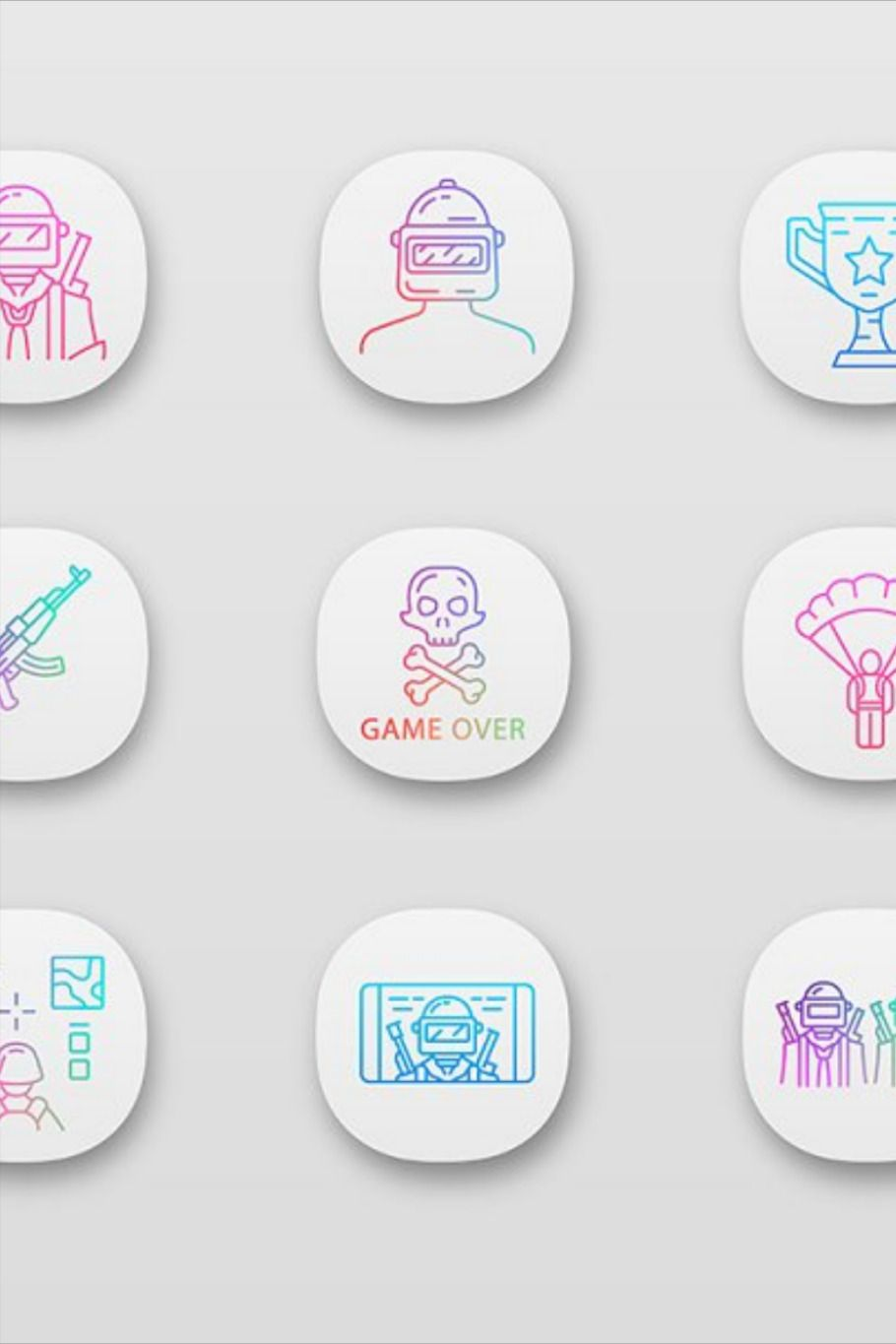 50 Beautiful Mobile App Icons for Design Inspiration