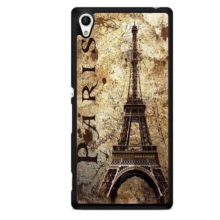 Vintage Paris TATUM-11737 Sony Phonecase Cover For Xperia Z1, Xperia Z2, Xperia Z3, Xperia Z4, Xperia Z5