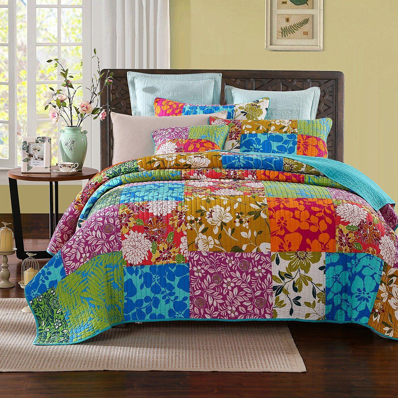 Multi Floral Comforters Quilt Sets Bedding Quilt Sets Bedspread Set
