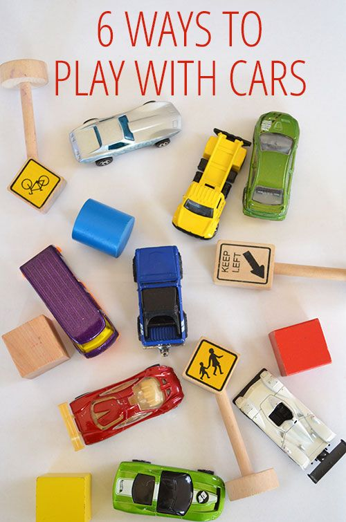 6 Ways to Play with Toy Cars - simple, easy car ideas from @katepickle for @Christie Moffatt Moffatt Moffatt Moffatt Burnett @Christie Moffatt Moffatt Moffatt Burnett @Christie Moffatt Moffatt Burnett @Christie Moffatt Burnett @Christie Burnett @Childhood101