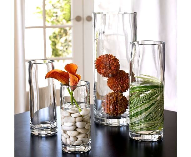 Cylinder vase arrangements thanksgiving table settings flowers diy home decor projects diy - Living room centerpieces ideas ...