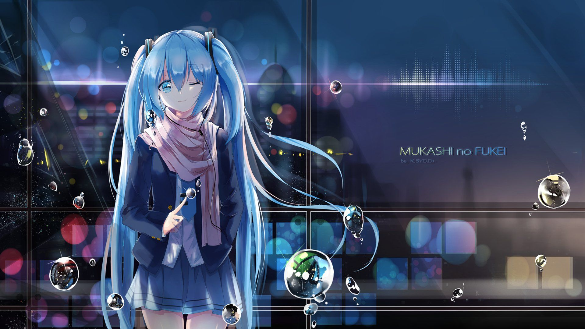 Anime Vocaloid Hatsune Miku Wallpaper Fondos De Pantalla Hd Fondos De Escritorio Fondos De Pantalla