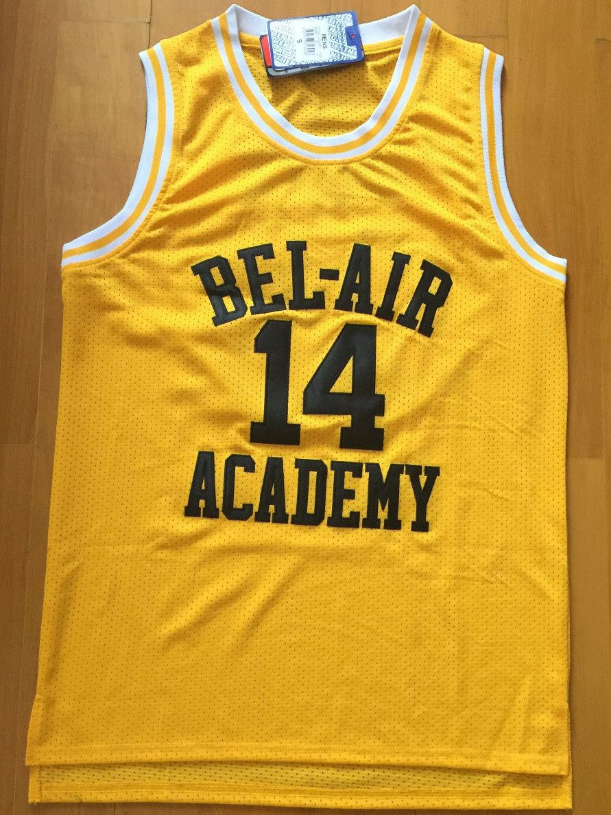 The Fresh Prince of Bel-Air Will Smith Bel-Air Academy Basketball Jersey (3  colors) 71b148f7e