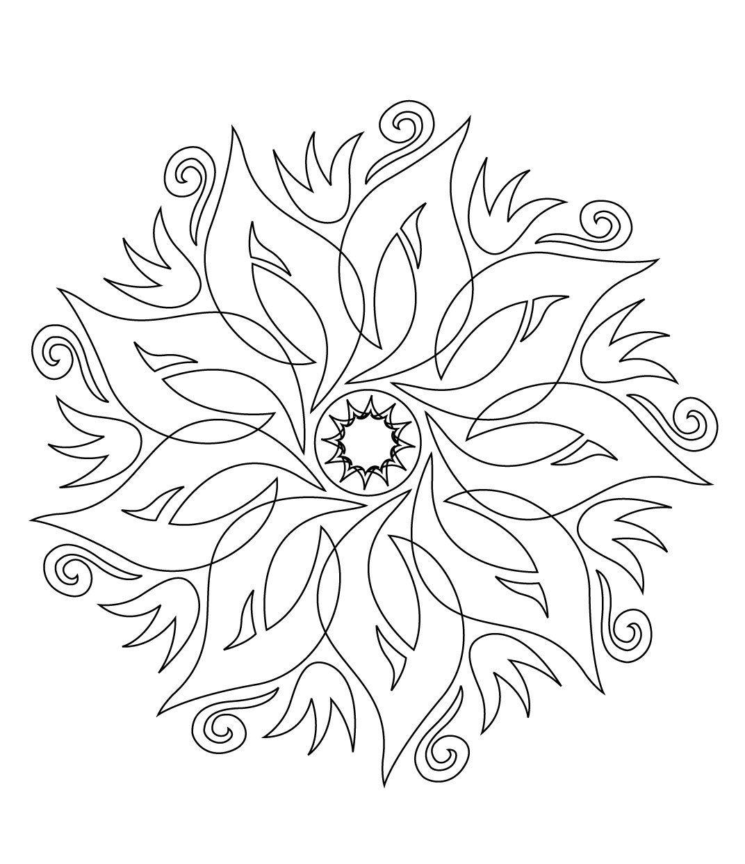 Stci coloriage pour adultes et enfants mandalas mandalas coloring pages mandala coloring - Mandalas a colorier pour adultes ...