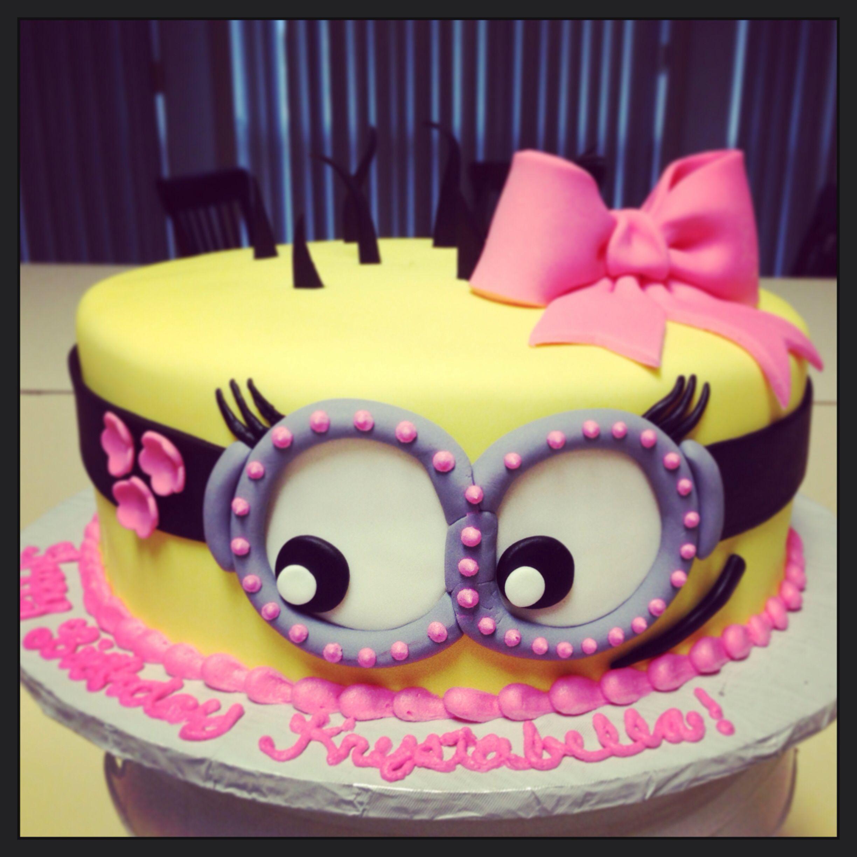 Minion Cake Para Piatas Infantiles Pinterest Cake Birthday