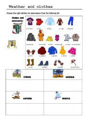 weather clothing yahoo image search results pictures for classroom clothes worksheet. Black Bedroom Furniture Sets. Home Design Ideas