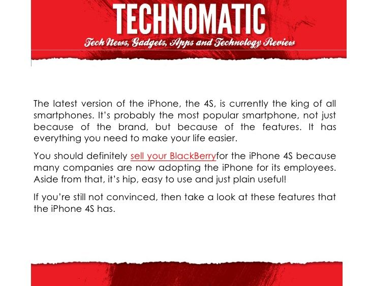 an-iphone-for-the-blackberry by Emdhie  via Slideshare