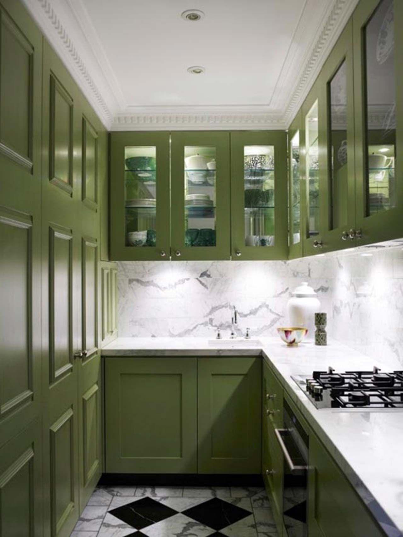 Green Small Kitchen Design Ideas ~ Httpwwwlookmyhomesbest Entrancing Best Small Kitchen Designs Inspiration Design