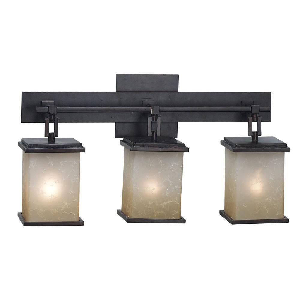 Kenroy Home Plateau 3 Light Oil Rubbed Bronze Vanity Light 03374 Bath Light Fixtures Vanity Lighting Vanity Light Bar