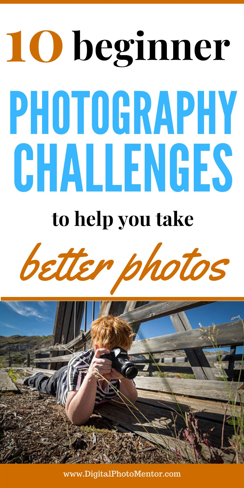 10 Photography Challenges for Beginners