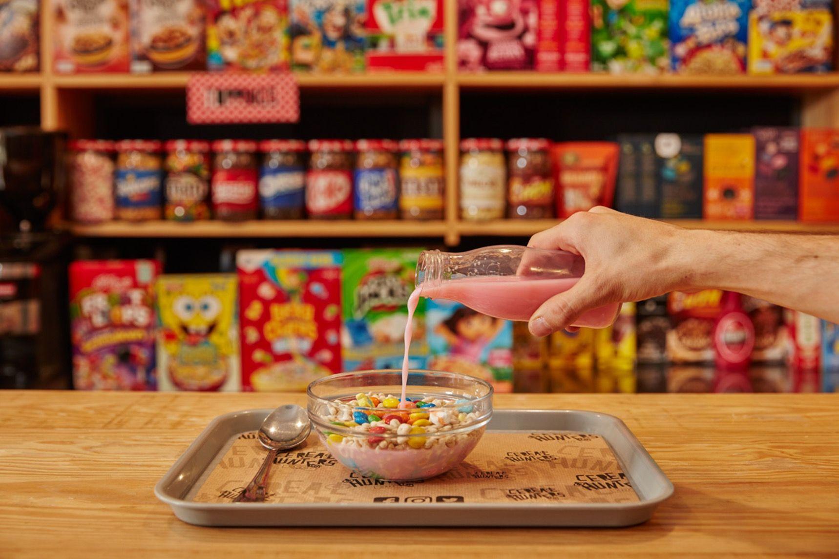 On The Grid Cereal Hunters Café Chueca Madrid Cereal Cafe Cereal Bar Food