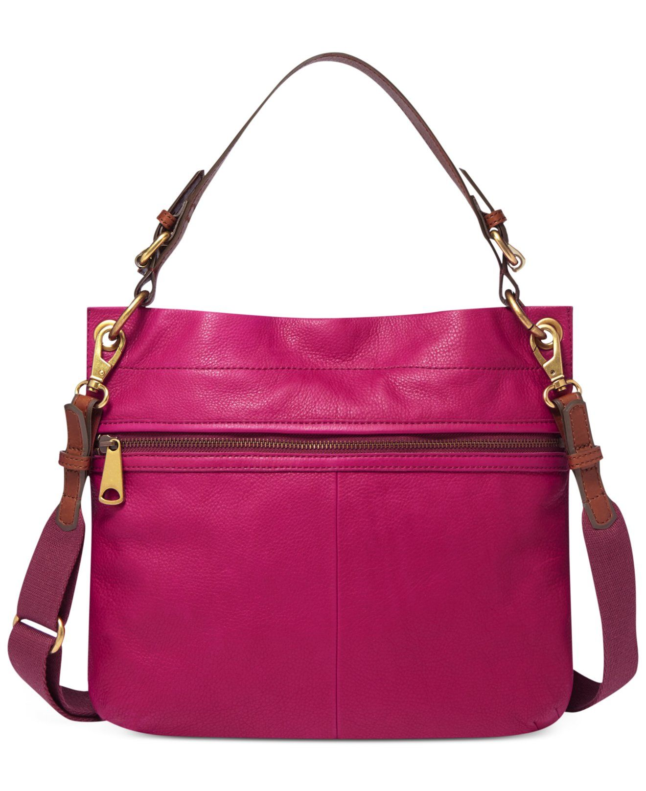 Fossil Explorer Leather Hobo - Sale & Clearance - Handbags ...